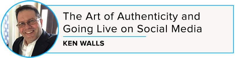 Ken Walls: The Art of Authenticity and Going Live on Social Media