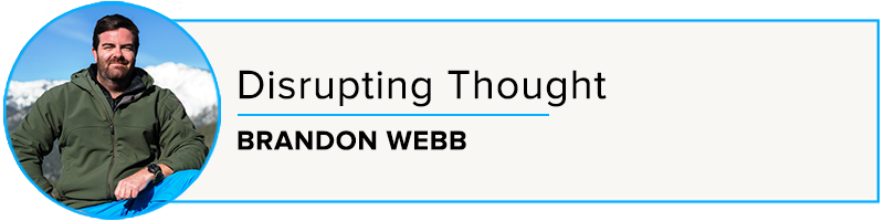 Episode 47: Disrupting Thought with Brandon Webb