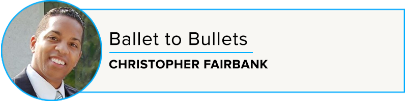 Episode 50: Ballet to Bullets with Christopher Fairbank